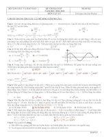 Các đề thi đại học môn vật lý từ năm 2002 đến năm 2012 có đáp án (Tải trọn bộ  chi tiết trong file đính kèm)