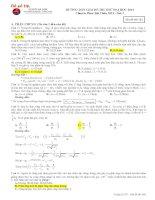 30 đề thi thử đại học môn Vật lý của các trường chuyên có lời giải chi tiết (phần 2)