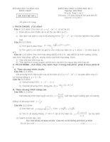 ĐỀ THI THỬ TOAN 12(SO 2)-HKI-2013-2104