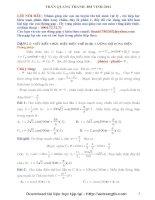 Phương pháp giải chi tiết điện xoay chiều 12
