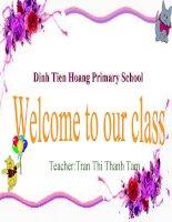 Tieng Anh 4( sach moi) unit 7 lesson 1