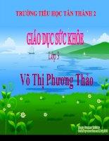 GDSK LOP 3 NHUNG CON TRUNG GIAN TRUYEN BENH