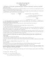 Ôn tập lý thuyết vật lý lớp 11_HK1
