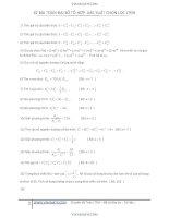 62 bài toán tổ hợp và xác suất tuyển chọn luyện thi đại học 2014 - nguyễn tùng giang