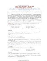 Phân tích và tránh 8 sai lầm thường mắc trong các kỳ thi đại học môn hóa học