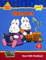 alphabet abc basic skills workbook