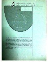 sách giáo khoa toán 10 nâng cao chương 4 & 5 bất đẳng thức và bất phương trình - thống kê