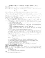 vật lý 10 - chuyên đề phương pháp động lực học có giải cực hay