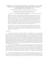NGHIÊN CỨU TÁCH ZIRCONI KHỎI CÁC TẠP CHẤT TỪ CÁC MÔI TRƯỜNG AXIT BẰNG PHƯƠNG PHÁP CHIẾT DUNG MÔI VỚI PC88A TRONG DUNG MÔI HỮU CƠ