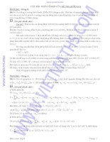 Các bài toán tổ hợp trong các đề thi học sinh giỏi quốc gia