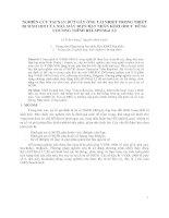 NGHIÊN CỨU TAI NẠN ĐỨT GÃY ỐNG TẢI NHIỆT TRONG THIẾT BỊ SINH HƠI CỦA NHÀ MÁY ĐIỆN HẠT NHÂN KOZLODUY  DÙNG CHƯƠNG TRÌNH RELAP5Mod 3.2