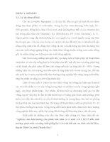 """""""Nghiên cứu ảnh hưởng của phân bón hữu cơ vi sinh 131 HC15 đến sinh trưởng, phát triển và năng suất giống lạc L14 trên đất cát ven biển xã Hải Hòa, huyện Tĩnh Gia, tỉnh Thanh Hóa''."""