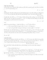 chuyên đề ôn luyện vật lý 11 đầy đủ theo từng bài hay và đầy đủ