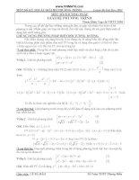 kỹ thuật giải hệ phương trình