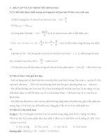 một số phương pháp giải nhanh bài tập kim loại