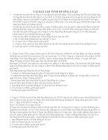 31 câu hỏi và bài tập luật đất đai