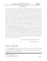 ĐỒ ÁN CÔNG NGHỆ HÀN Thiết kế Vỏ ngưng tụ , áp suất làm viêc là 3at ( thuyết minh + bản vẽ cad đầy đủ)