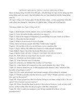 20 Topic speaking tiếng anh B1 mới nhất năm 2013