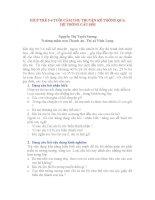 GIÚP TRẺ 56 TUỔI CẢM THỤ TRUYỆN KỂ THÔNG QUA  HỆ THỐNG CÂU HỎI  Trường mầm non Thanh An Thị xã Vĩnh Long.