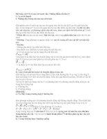 Phương pháp giải bài tập Vật lí 10