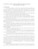 ĐỀ TÀI : MỘT VÀI KINH NGHIỆM GIÚP HỌC SINH LỚP 2 HỌC TỐT MÔN : TẬP VIẾT