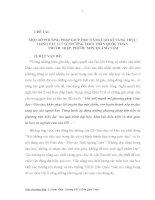 ĐỀ TÀI:  MỘT SỐ PHƯƠNG PHÁP GIÚP HỌC NÂNG CAO KĨ NĂNG THỰC HÀNH VẬT LÍ 7 Ở TRƯỜNG THCS