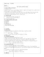 giáo án dạy thêm ngữ văn lớp 7 đầy đủ chi tiết