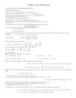 giáo án dạy thêm vật lý 12 chương 1