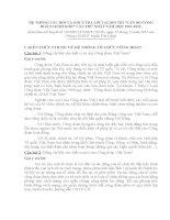 """HỆ THỔNG CÂU HỎI VÀ GỢI Ý TRẢ LỜI TẠI HỘI THI """"CÁN BỘ CÔNG ĐOÀN CƠ SỞ GIỎI"""" LẦN THỨ NHẤT NĂM HỌC 2011-2012"""