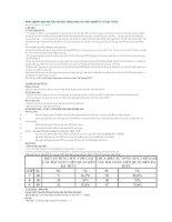 Kinh nghiệm giải bài toán đa thức bằng máy tính cầm tay(MTCT) ở bậc THCS