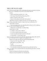 ĐỀ CƯƠNG ÔN TẬP MÔN ĐƯỜNG LỐI CÁCH MẠNG ĐẢNG