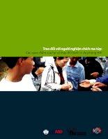 tập huấn - trao đổi với người nghiện ma túy về phòng chống hiv
