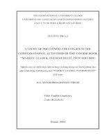 a study of politness strategies in the conversational activities of the course book  market leader – intermediate = nghiên cứu các chiến lược lịch sự được sử dụng trong các bài hội thoại của giáo trình tiếng anh