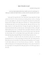 ĐÀO TẠO THEO ĐỊNH HƯỚNG PHÁT TRIỂN NĂNG LỰC NGƯỜI HỌC VÀ THEO QUAN ĐIỂM TÍCH HỢP Ở KHOA SƯ PHẠM