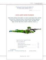 skkn phương pháp tổ chức luyện tập phát huy tính tích cực nhằm nâng cao thành tích trong thực hành bắn súng tiểu liên ak đối với học sinh