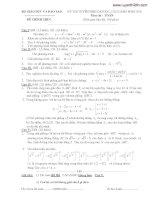 tuyển tập đề thi đại học môn toán của bộ giáo dục từ 2002 cho đến 2010