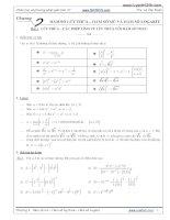 phân loại và phương pháp giái phương trình mũ logarit