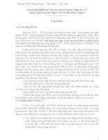 KINH NGHIỆM SỬ DỤNG PHẦN MỀM VIOLET 1.7 SOẠN BÀI GIẢNG ĐIỆN TỬ Ở TRƯỜNG THCS