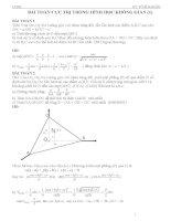 bài toán cực trị trong hình học không gian (1)