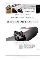 tiểu luận môn quản trị vận hành thiết kế sản phẩm j610 motor tracker