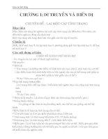 tài liệu bồi dưỡng hsg sinh học 9