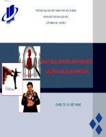 báo cáo tiểu luận quản trị nhân sự phát hiện, thu hút, đào tạo phát triển và giữ người tài