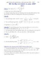tổng hợp tài liệu ôn thi môn toán 2015 có lời giải