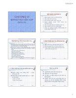 bài giảng môn học marketing dịch vụ chương 6 marketing hỗn hợp dịch vụ