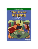 the three wishes social studies