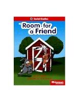 room for a friend social studies