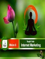 báo cáo xây dựng kế hoạch internet marketing cho website www.ymcvn.com.vn
