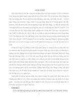 XÂY DỰNG KẾ HOẠCH KINH DOANH CHO DỰ ÁN TRANG WEB http://www.hotparty.vn/