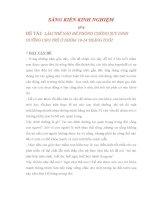 ĐỀ TÀI: LÀM THẾ NÀO ĐỂ PHÒNG CHỐNG SUY DINH DƯỠNG CHO TRẺ Ở NHÓM 19-24 THÁNG TUỔI
