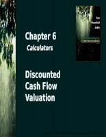 Chapter 6 discounted cash flow valuation